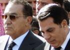 La suerte de seis dictadores árabes