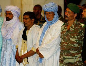 El líder tuareg Iyad Ag Ghaly, en 2009.