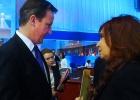 Cameron y Kirchner se enzarzan por Las Malvinas en el G-20