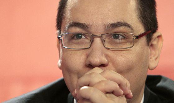 El primer ministro de Rumania, Víctor Ponta.