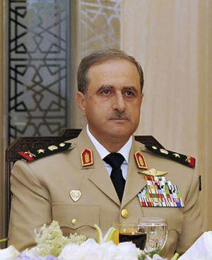 El ministro de Defensa fallecido, Daoud Rajha.