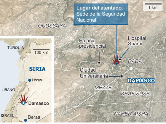 El golpe al círculo de El Asad acelera el debilitamiento del régimen sirio