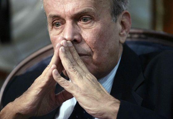 El presidente de la Asamblea cubana, Ricardo Alarcón.