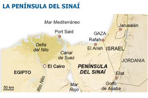 Egipto impone la ley en el Sinaí