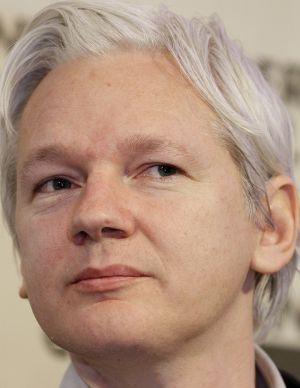 Julian Assange, el 27 de febrero de 2012 en Londres.