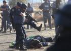 Protesta minera y muerte en Suráfrica