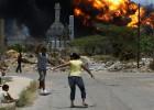 El incendio en la refinería venezolana de Amuay se extiende