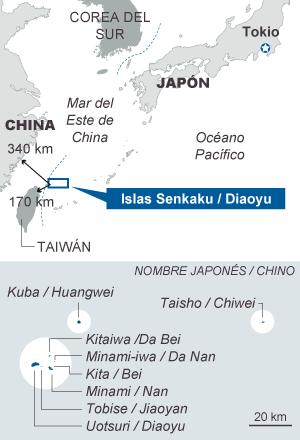 China bota su primer portaaviones en plena escalada de tensión con Japón