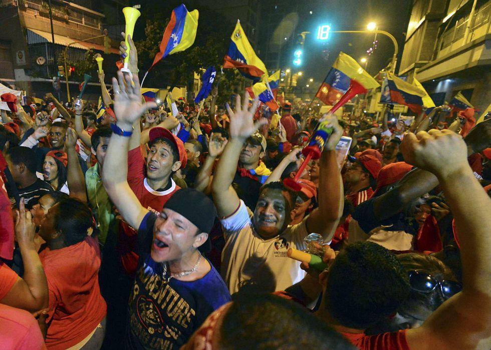 Celebraciones en Caracas.