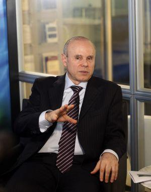 El ministro de Hacienda de Brasil, Guido Mantega.