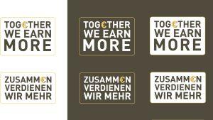 Campaña de la agencia polaca Touch Ideas. Juntos ganamos más.