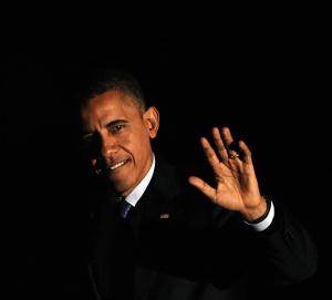 El presidente de Estados Unidos y candidato demócrata, Barack Obama.