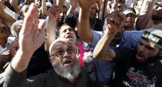 Protesta de salafistas en Tahrir.
