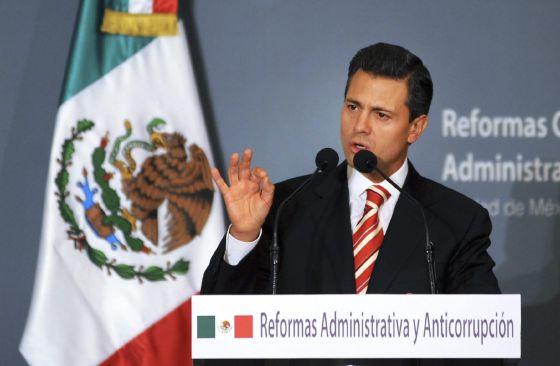 Peña Nieto anuncia nuevas medidas para la lucha contra la corrupción.