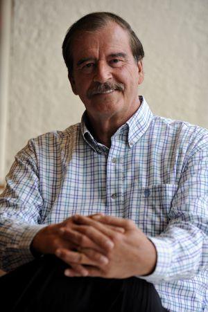 El expresidente de México Vicente Fox, en junio de 2012.