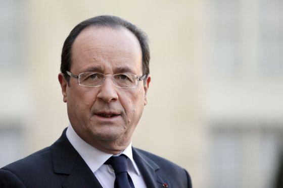 François Hollande hoy en el Elíseo.