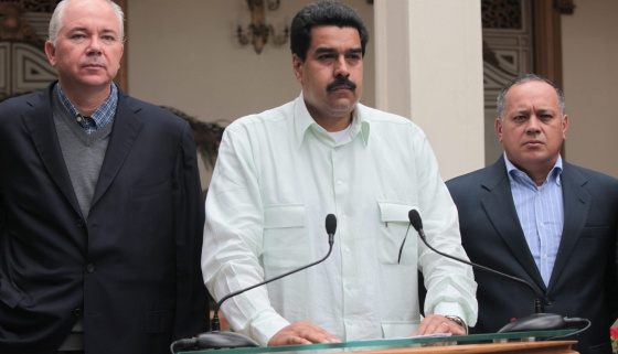 Maduro, el miércoles en Caracas en un discurso.