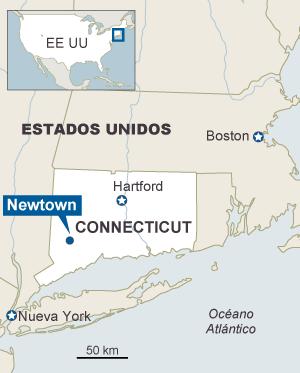 Veintisiete muertos en un tiroteo en un colegio de Connecticut