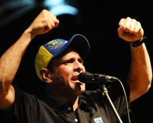 Capriles, candidato a la reelección como gobernador de Miranda.