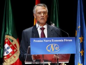 El presidente de Portugal Aníbal Cavaco Silva.