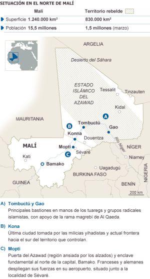 Las claves de la rebelión en Malí