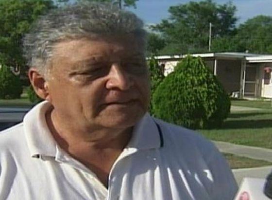 El exteniente chileno Pedro Pablo Barrientos Núñez, presunto implicado en el asesinato de Víctor Jara