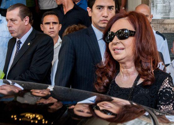 La presidenta argentina Cristina Fernández, en La Habana.