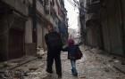 El invierno y la falta de munición congelan los frentes de Alepo