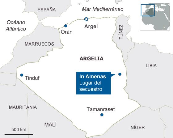 La guerra de Malí se extiende a Argelia