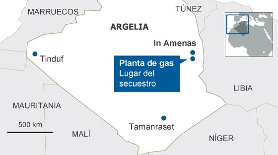 El asalto a la planta de Argelia deja 30 rehenes muertos, 7 de ellos occidentales
