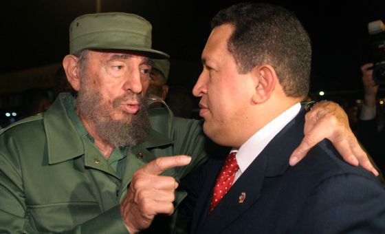 Castro y Chávez, en una imagen de archivo.
