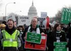 Washington clama a favor del control de las armas de fuego
