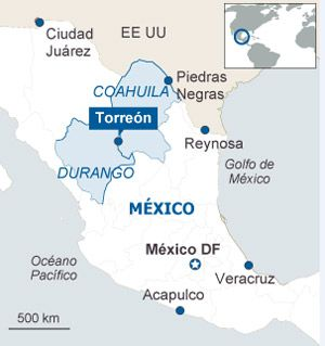 Código rojo en el norte de México