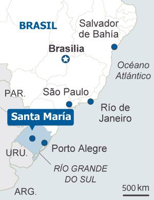 Brasil vive una de sus peores tragedias