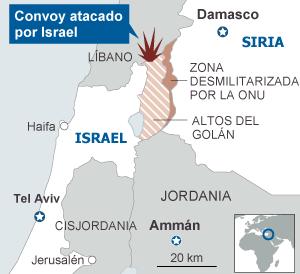 Resultado de imagen de israel en guerra siria