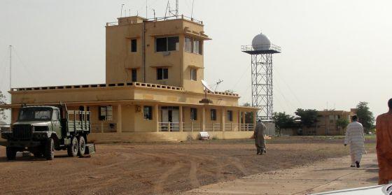 Una imagen del aeropuerto de Kidal el pasado 7 de agosto.