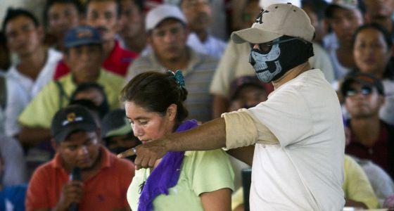 Imagen de unos de los juicios en Ayutla.