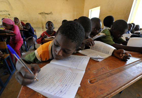 Las escuelas de Gao reabrieron este lunes tras la guerra contra los yihadistas.