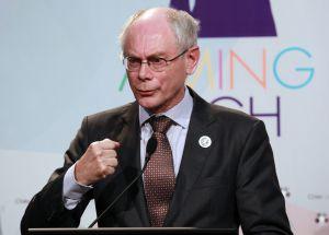 El presidente del Consejo Europeo, Herman Van Rompuy. EFE