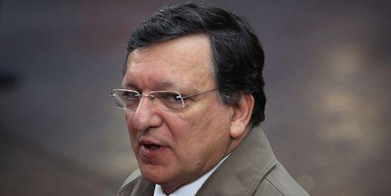 El presidente de la Comisión Europea, José Manuel Durão Barroso, este jueves en Bruselas.