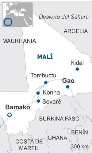 Un terrorista yihadista perpetra el primer ataque suicida en Malí