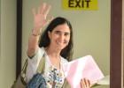 Yoani Sánchez sale de Cuba