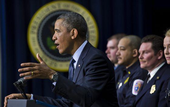 El presidente Barack Obama durante una intervención en Washington este martes.