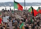 Portugal grita un multitudinario basta a la política de austeridad