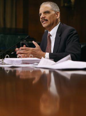 El Fiscal General, Eric Holder, ofrece su testimonio ante el Comité Jurídico del Senado esta semana.