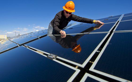 Instalaciones de SolarTAC en Aurora, Colorado.