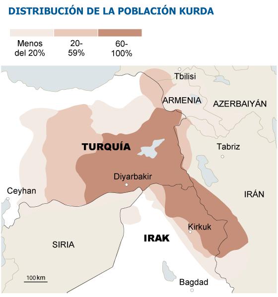 Resultado de imagen para Turquía vs kurdos