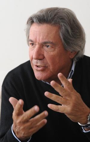 El exactivista uruguayo Gustavo Mosca, el viernes en Montevideo.