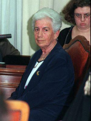 Teresa Mattei, expartisana y política italiana, en 1996.