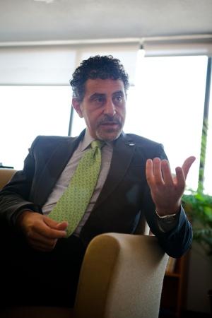 Antonio Luigi Mazzitelli, en su oficina de México DF.